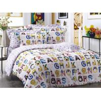 China Character Cartoon Floral Bedding Sets , Twill Cotton Fabric Reactive Dye on sale