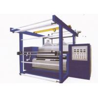 Wholesale Double roller natural luster fabric rolling machine for polishing of fabrics from china suppliers