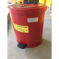 Wholesale Laboratories Oily waste can, Industrial Fireproof Metal Waste Bin from china suppliers