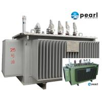 Wholesale 33 KV - 500 KVA Low Noise Power Transformer Low Loss ONAN / ONAF Cooling from china suppliers