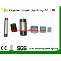 Buy cheap DIN EN 10226-1 coupling female -thread black and galvanized steel pipe sockets from Wholesalers