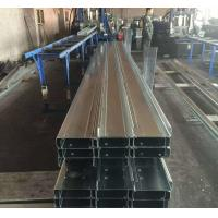 Wholesale Q235b Q345b Galvanised Steel Purlins Cold Bending Spacing Steel Channel from china suppliers