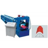 Wholesale Galvanized Roof Ridge Cap Roll Forming Machine With Hydraulic Pressing Machine from china suppliers