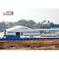 China 40x70m Aluminum Outdoor Event Tents ABS Hard Wall For Medical Waste Disposal on sale