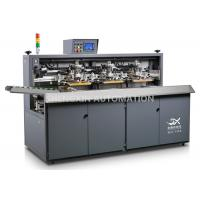 China Three Color Automatic Screen Printing Press For Beverage / Wine / Liqour Bottle on sale
