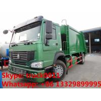 SINO TRUK HOWO LHD/RHD garbage compactor truck for sales, Best price12cbm compacted garbage truck for sale