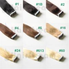 PU Tape Hair Extension Color Dark Black Brown 100 Gram Pure Blonde 40Pcs Skin Weft Hair for sale