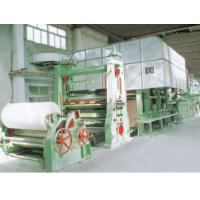 Double-Dryer Can and Double-Cylinder Mould Corrugating Paper Machine