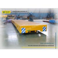 Wholesale Steel Pallet Transfer Carts Railroad Handling Vehicle Motor Trackless Flat Dolly from china suppliers