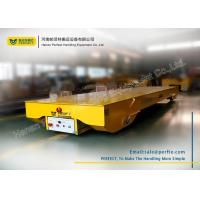Wholesale Wireless Control Electric Pallet Transfer Carts , Rail Transfer Trolley from china suppliers