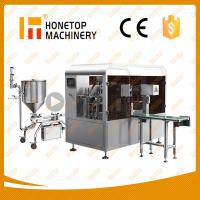 Buy cheap High Quality Rotary Liquid Packing Machine from Wholesalers