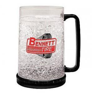 Wholesale PMB-450L plastic beer mug PS material beer mug custom LOGO ICE BEER MUG from china suppliers