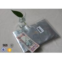 Wholesale Non Itchy Fiberglass Fabric Fire Resistant Document Pouch / Fireproof Cash Envelope from china suppliers