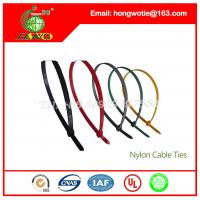 China Nylon Fastener Packaging Electrical Cable Tie Heating Cables 4.8x250mm 9.8inch Long 200pcs on sale