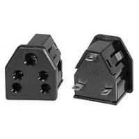 China Universal Grounded India Type D Travel Power Plug Adapter Electrical Sockets 6A 240V AC 3 Pin Triangular Outlet 50 Hz on sale