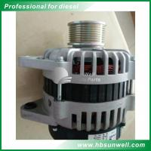 China Genuine Diesel Engine Alternator / ISLE 70A Engine Alternator Generator JFZ2718 4946255 on sale