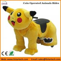 Pokemon Coin Operated Battery Animals Electric Ride on Motorized Animals for mall