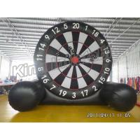 Wholesale New Giant  Soccer Game Inflatable Sports Games Football Dart Board from china suppliers