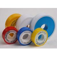 China Cold - Resistance PTFE Thread Seal Tape For Chemical Industry , Yellow Teflon Tape on sale