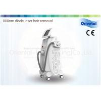 Buy cheap Custom Vertical White Case Diode Laser Hair Removal Machine For Underarm from Wholesalers