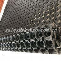 Wholesale Residential  Interlocking Perforated Kitchen Floor Rubber Mats Anti Skid Shock Proof from china suppliers
