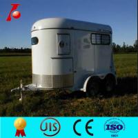 Buy cheap 2 horse float(trailer) with front tool box from Wholesalers