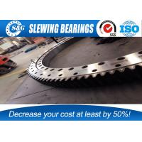 Wholesale Wheeled crane large diameter ring style turntable bearings with low vibration from china suppliers