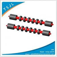 Wholesale Comb rubber disc self cleaning belt conveyor sleeve roller from china suppliers