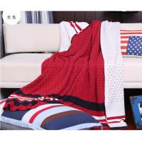 Buy cheap Beautiful Colorful Popular Quilted Throw Blanket For Sofas / Chair 100% from wholesalers