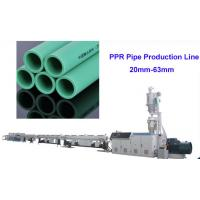 Wholesale Highest Speed Plastic Pipe Manufacturing Machine 30m / Min 20mm -110mm PPR Tube Making from china suppliers