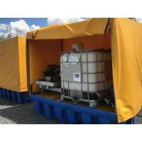 Wholesale Heavy Duty IBC Spill Containment Drum Platform For Oil Drum / Chemical Drum from china suppliers
