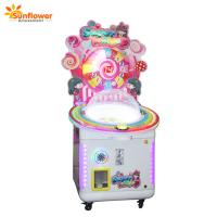 Wholesale Sunflower Coin Operated Game Machine Candy Lollipops Vending Machines for Sale from china suppliers