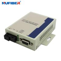 Wholesale GM218SM-C20A/B Serial to Fiber Converter RS232 data to Fiber Converter Simplex SM 1310nm/1550nm 20KM SC from china suppliers