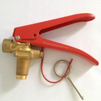 China co2 extinguisher valve on sale