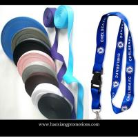 Wholesale Best quality 2*90cm custom Printed logo Polyester Lanyards for promotion from china suppliers