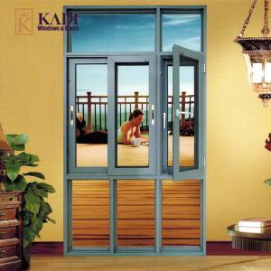 Buy cheap casement aluminum frame windows by professional manufacturer