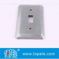 Buy cheap TOPELE 20C5 Galvanized Steel Rectangular Flat Blank Device Switch Covers for Toggle Switch from Wholesalers