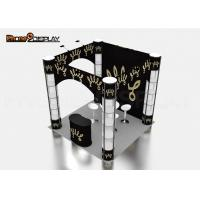 Wholesale Square Custom Trade Show Booth Manufacturers Spiral Twister Tower Showcase Display Stand from china suppliers