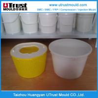Wholesale Plastic injection mould  high quality customized plastic paint bucket mould 20L from china suppliers