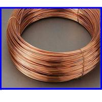 Buy cheap Silver Cadmium Oxide Contacts Electrical Copper Wire For Connector Wire from Wholesalers