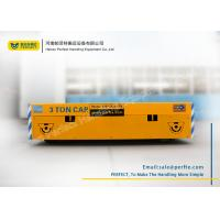 Quality Battery Power Feeding Steel Structure Rail Transfer Cart for Transferring for sale