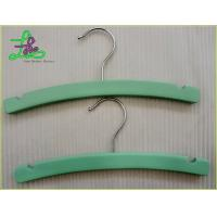 Wholesale Moon shape wooden clothes baby hangers from china suppliers