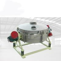 China Straight Liner Vibrating Sieve Screen Machine Chemicals Application on sale