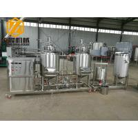 Pub / Home Beer Making Machine , Stainless Steel Mini Beer Brewery Equipment