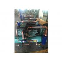 15HP Copeland Water Cooled Condensing Units , Compressor Refrigeration Unit For Supermarket