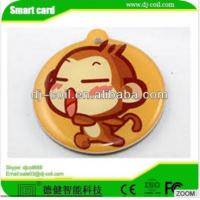Quality ISO 14443A mini active rfid waterproof laundry tag/sticker for sale