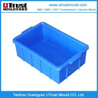 Wholesale Plastic injection mould turnover basket mould maker in taihzou mould maker from china suppliers