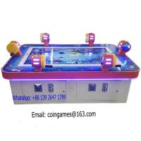 6 players amusement arcade coin operated hunter shooting for Arcade fish shooting games
