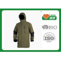Buy cheap Olive Color Waterproof Rain Jacket For Hiking / Fishing / Hunting from Wholesalers