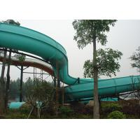 Wholesale Durable Large Family Fun Fiberglass Water Slide Amusement Park Equipment from china suppliers